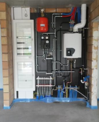 ATAG centrale verwarming met vloerverwarming