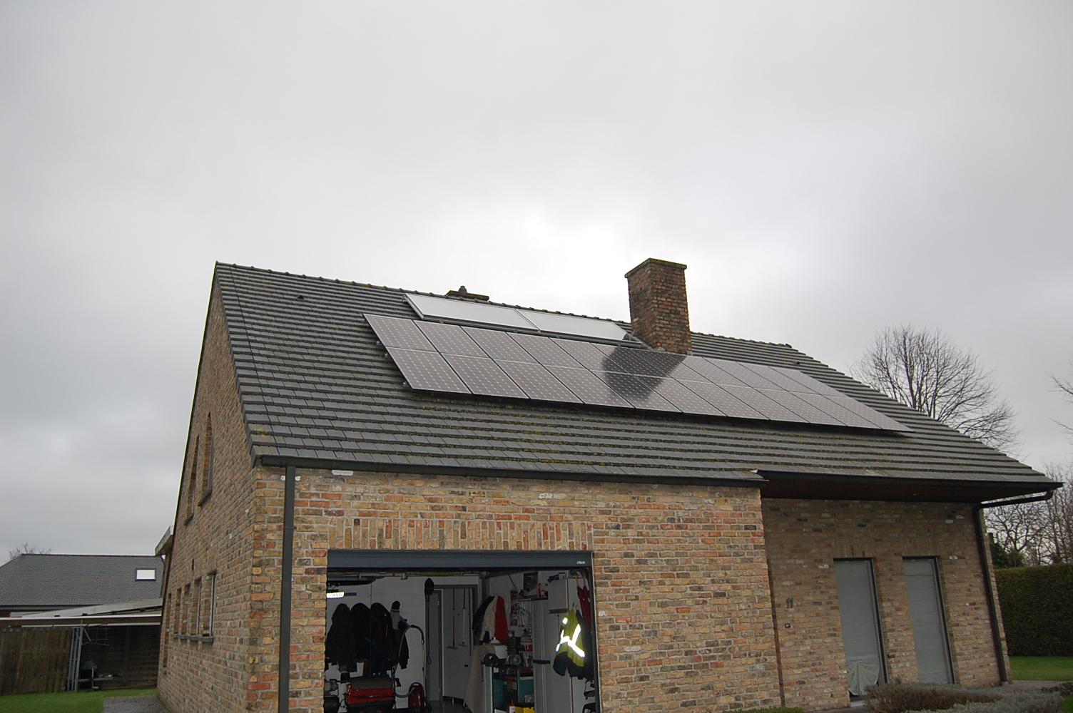 Zonnepanelen en PV panelen